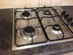 cooker after cleaning