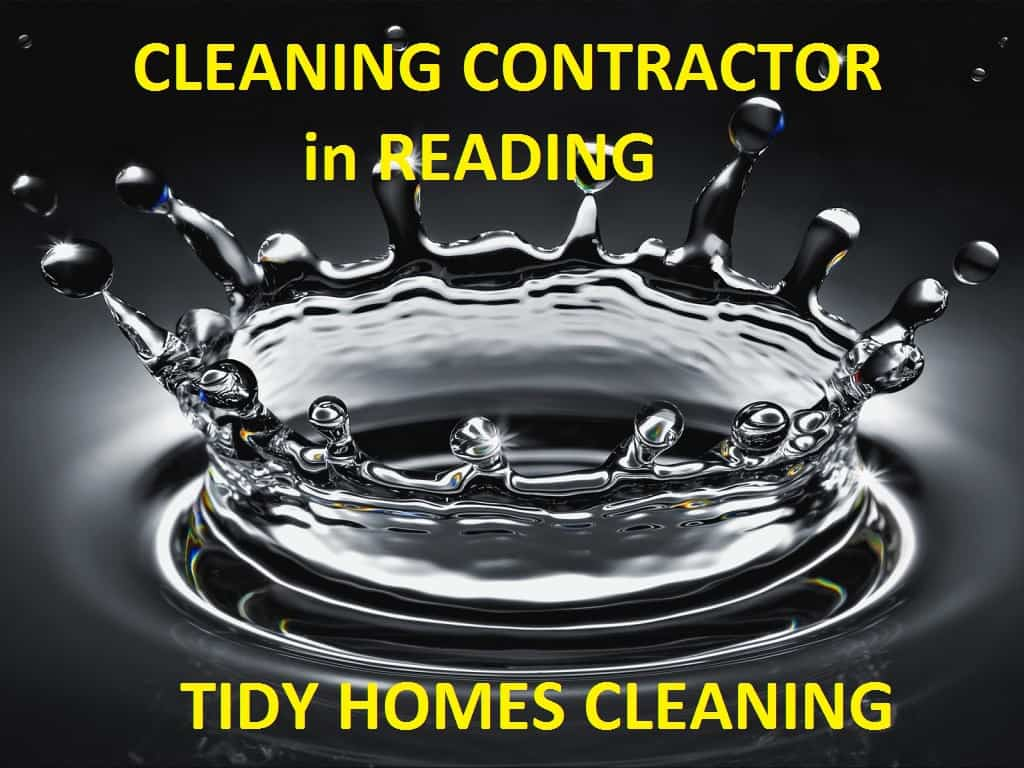 cleaning contractor in Reading - Tidy Homes